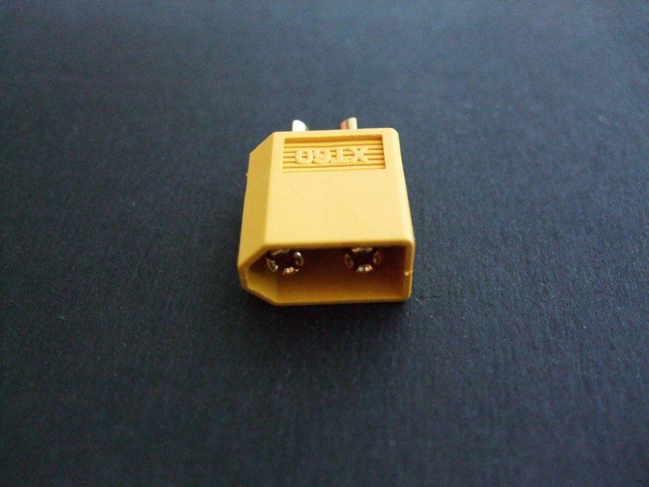 1x XT60 Stecker passend für Turnigy Zippy LiPo XT 60