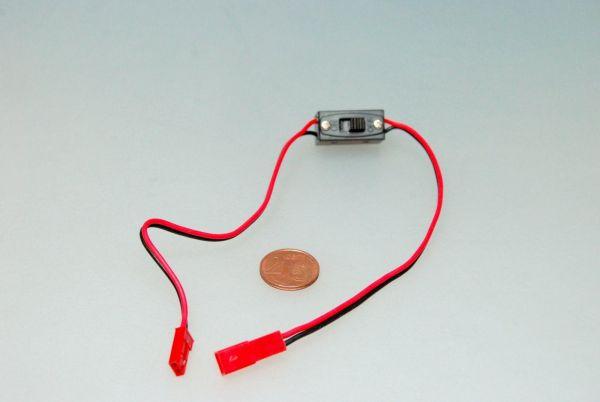1x JST BEC Schalterkabel 30cm Kabel 22AWG Lipo Stecker Buchse