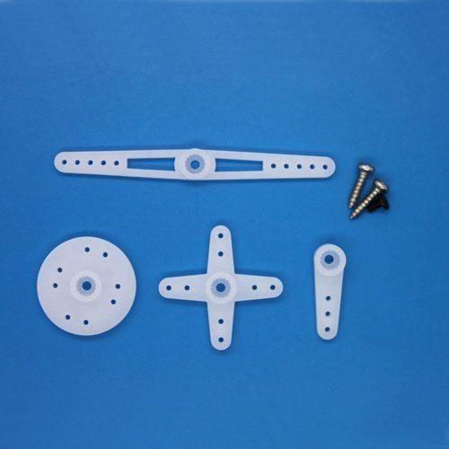 ES08 Ersatz Ruderhörner und Schrauben für Emax ES08MD und ES08MA Micro Servo