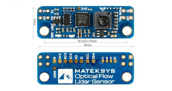 Matek 3901-L0X Optical Flow und Lidar Sensor für INAV