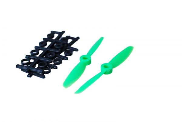 1x Paar 4x4,5 Grün CCW + CW Propeller Quadrocopter rechts + links drehend