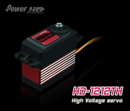 PowerHD HD-1212TH Digital Titangetriebe Servo 57g 14kg 0,10sec HV FBL Heli