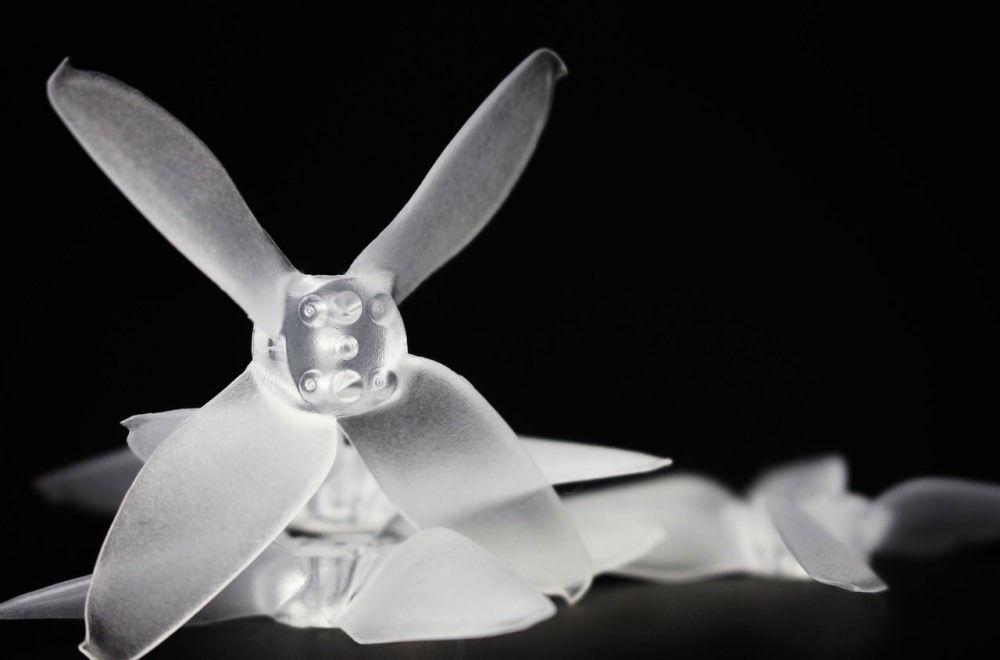 "Emax Avan 2"" 4-Blatt FPV Race Propeller 6xL 6xR Klar für Babyhawk R"