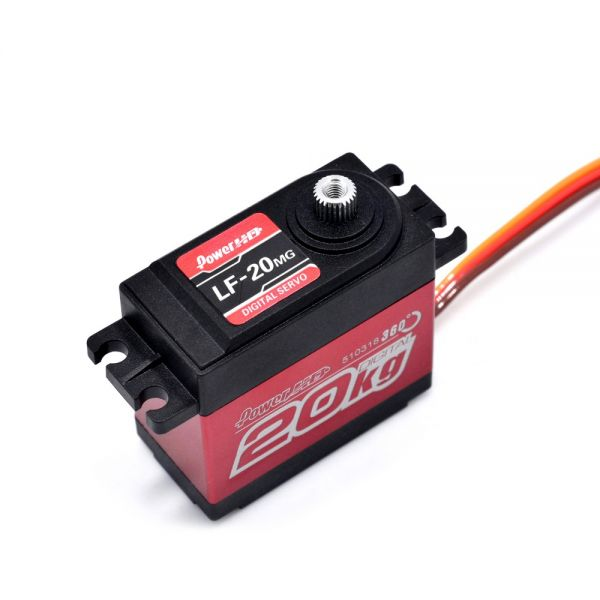 PowerHD LF-20MG 360° Cont Digital Servo 20kg 0,16sec 60g 4,8V-6,6V BB