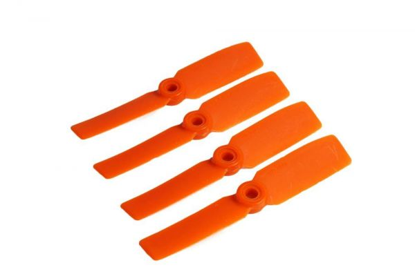 3.5x4.5 Gemfan 4x Propeller Links Orange Nylon GF Bullnose Luftschraube 3545