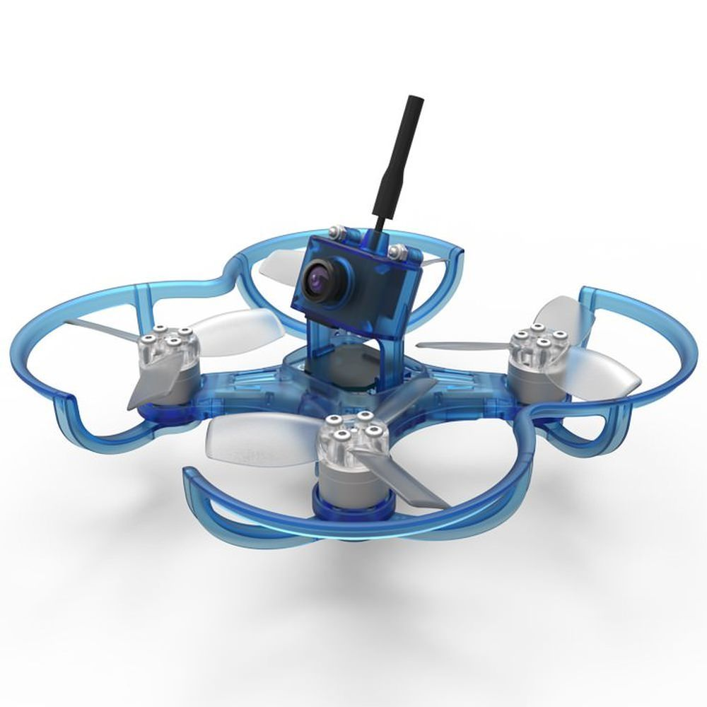 Emax Babyhawk 85mm ARF FPV 2S Race Quad RS1104 6A Bullet in Blau