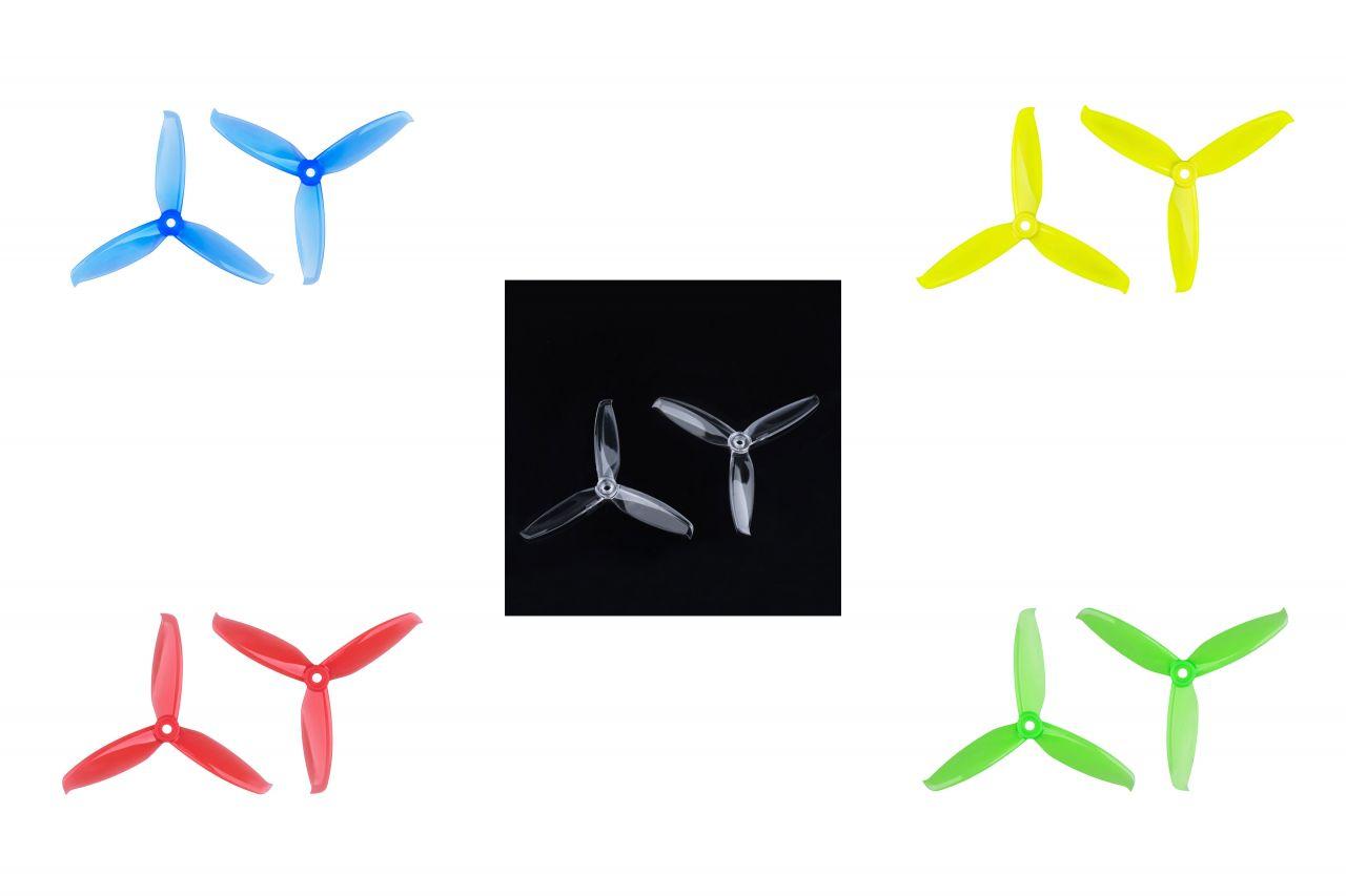 5x4.2 Gemfan Windancer 3-Blatt FPV Race Propeller 2xL 2xR 5042 Auswahl