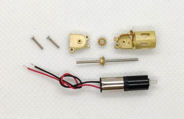 DAS87 DS87E04 Mikrogetriebe Bausatz aus Messing für 1:87 LKW Modelle