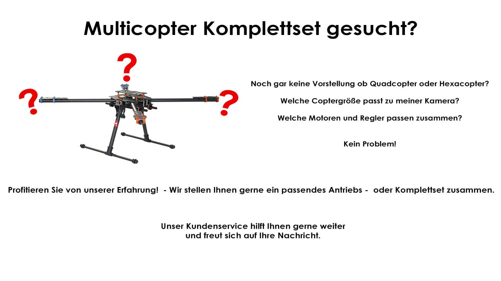Multicopter Modellbau Online Shop
