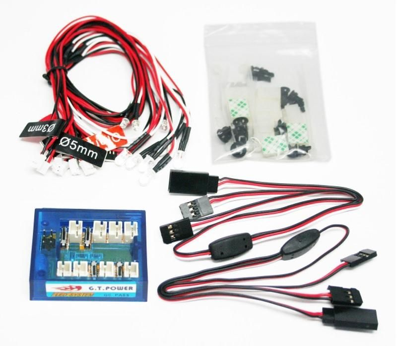 GT-Power 1:10 RC Car LED Beleuchtungsset