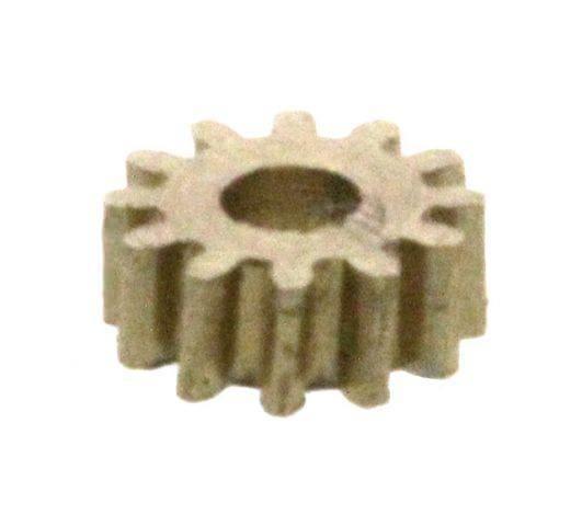 Zahnrad 12 Zähne Modul 0.2 1mm Bohrung Messing schrägverzahnt M0.2 Z12S