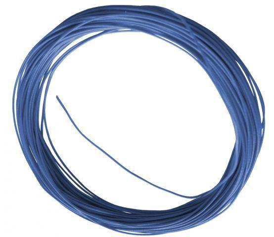 Flexible Litze in Blau 10m 0,6mm Durchmesser