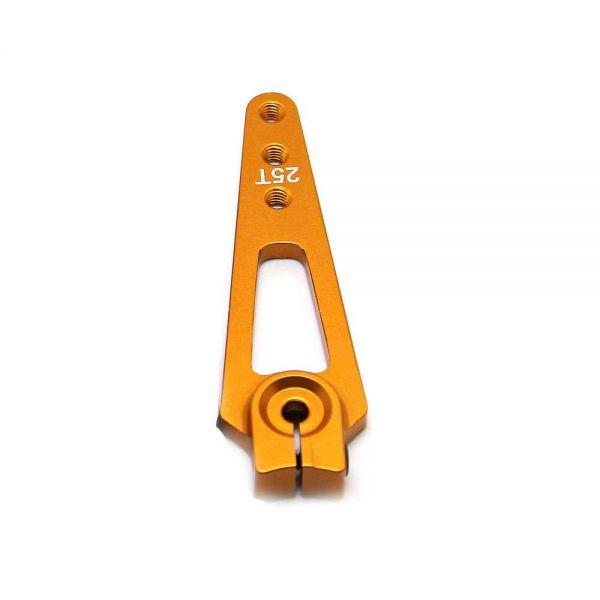 Feetech 5,6cm CNC Alu Servo Horn Arm Feetech, Futaba Servos 25 Zähne