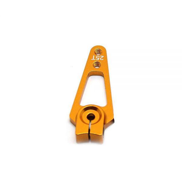 Feetech 4,4cm CNC Alu Servo Horn Arm Feetech, Futaba Servos 25 Zähne