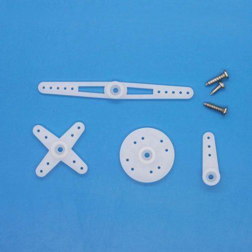 ES08 Ersatz Ruderhörner und Schrauben für Emax ES08A und ES08D Micro Servo