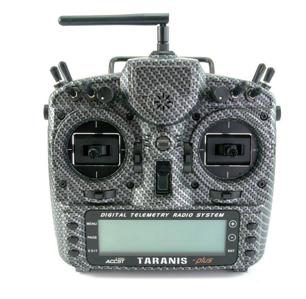 FrSky 2,4 GHz Taranis X9D Plus Special Carbon Fiber - Black Edition