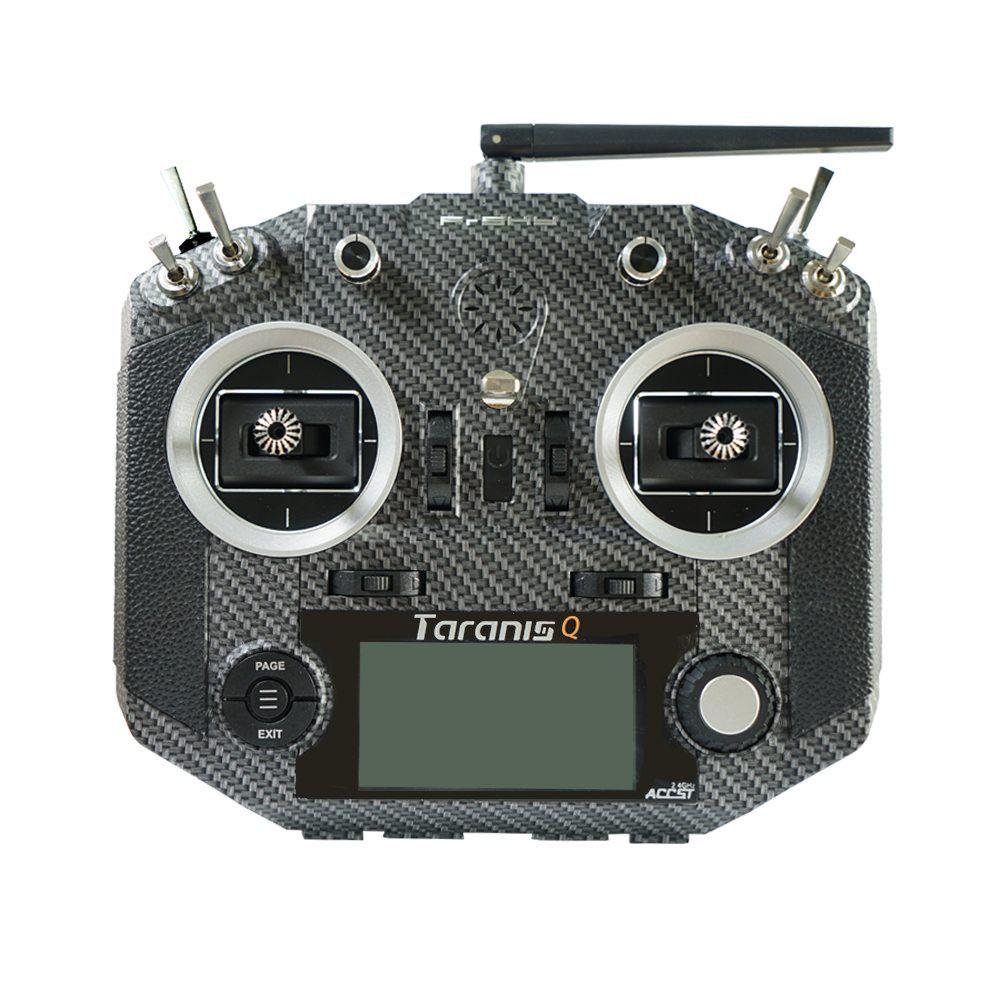 FrSky Taranis Q X7S Sender 2,4 GHz Fernsteuerung Carbon - deutsch -
