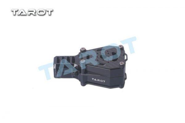 Tarot TL96032 Dual Motorhalterung X Koax schwingungsgedämpft Schwarz 25mm Rohre