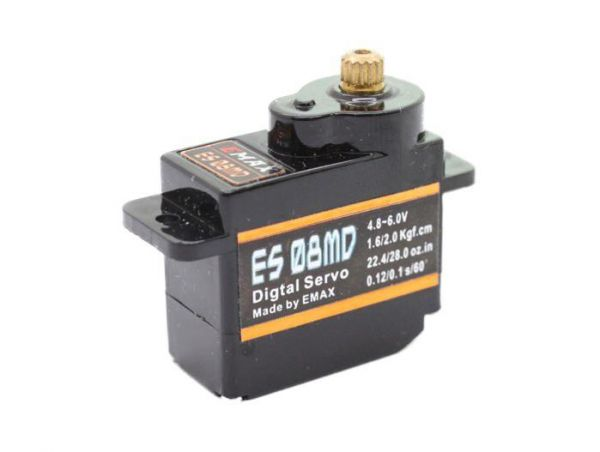 Emax ES08MD Digital Metall Micro RC Servo 12g 0,10s 2,0kg