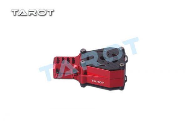 Tarot TL96033 Dual Motorhalterung X Koax schwingungsgedämpft Rot für 25mm Rohre