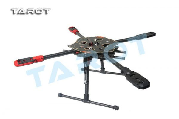 Tarot 650 Sport klappbarer Carbon Quadcopter Rahmen - elektrisches Landegestell