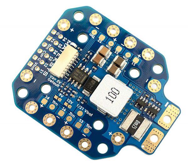 Matek PDB bis zu 12S mit BEC und Sensor - PDB-HEX