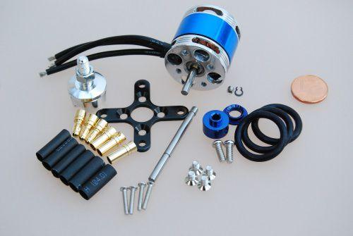 KD2209 / 28 46g Brushless Außenläufer Motor 1050kv