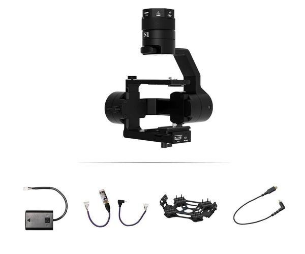 Gremsy S1 V3 Gimbal Bundle - Sony Alpha A6000 Serie + Seagull #REC