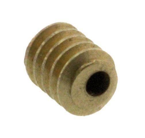 Schnecke S1 Modul 0.2 1mm Innenbohrung M0.2 Messing