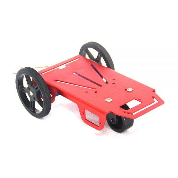 Feetech 2WD Mini Robot Plattform inkl. 2x FM90 Getriebemotor