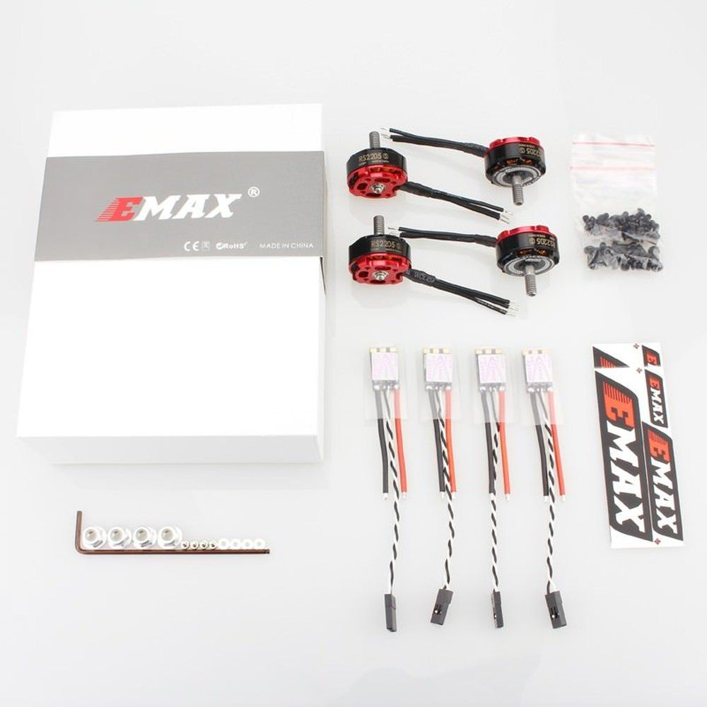 Emax RS2205S 2600kv 3S-4S Motor und 30A Bullet Regler FPV Racing Set