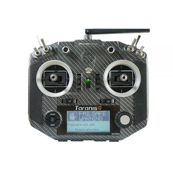 FrSky Taranis Q X7S Sender 2,4 GHz Fernsteuerung Carbon Fiber ACCESS