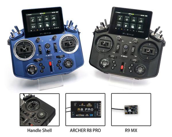 FrSky Tandem X20 2,4GHz+ 868Mhz ACCST + ACCESS - Bundle Blau