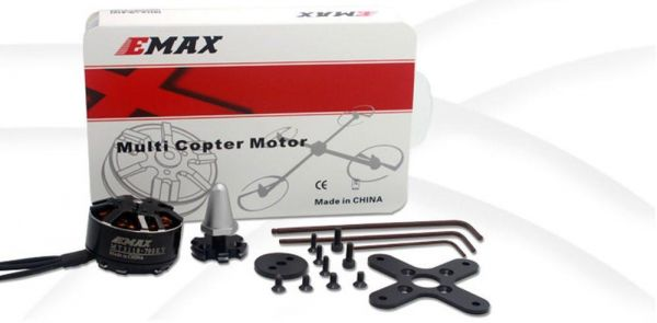 Emax MT3110 Brushless Motor 700kv 3S-4S 78g f. Multicopter CW Version