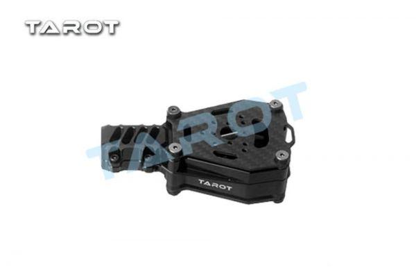Tarot TL68B43 Dual Motorhalterung X Koax schwingungsgedämpft Schwarz 16mm Rohre