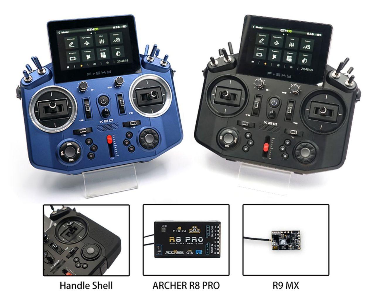 FrSky Tandem X20 2,4GHz+ 868Mhz ACCST + ACCESS - Bundle Schwarz