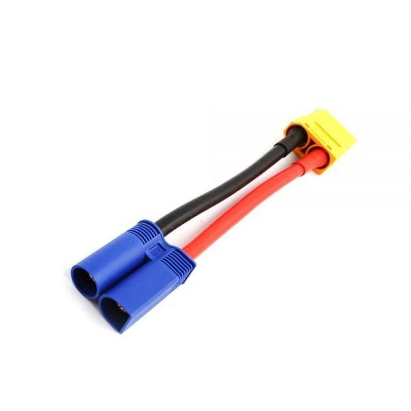 EC5 Stecker männlich auf XT90 Buchse weiblich Adapterkabel