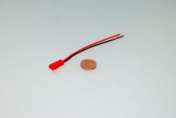 1x JST BEC Stecker männlich 10cm Kabel 20AWG Lipo z.B. Turnigy Zippy
