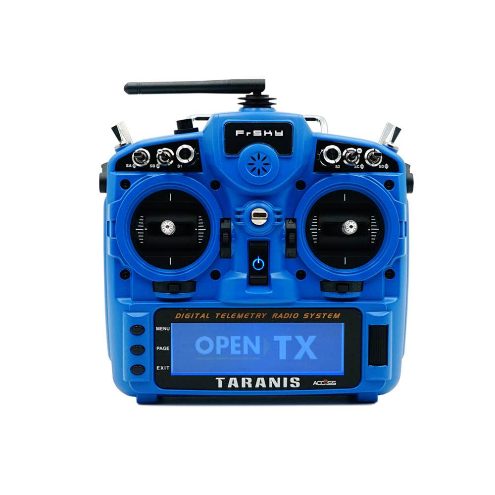 Frsky Taranis X9D Plus 2019 in Blau