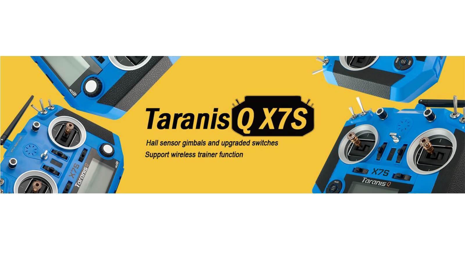 FrSky Taranis Q X7S Blau