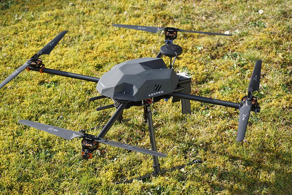 PM Q-685 klappbarer Carbon Quadcopter Rahmen