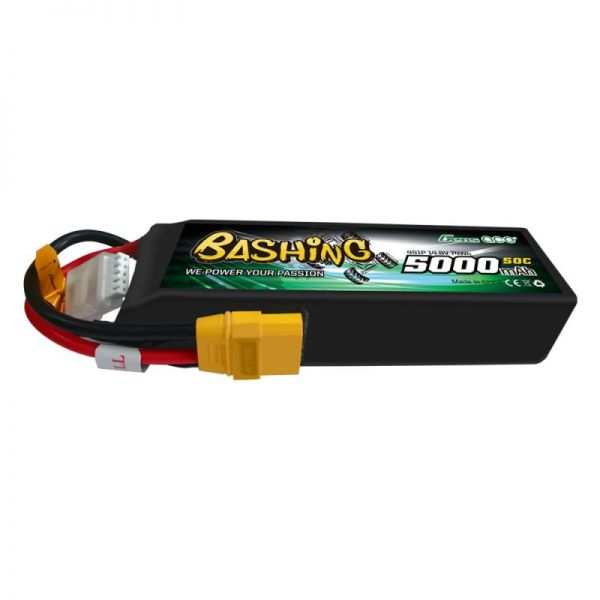 Gens Ace Bashing LiPo Akku 4S 5000mAh 14,8V 50C XT90 S500