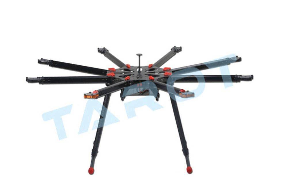 Tarot X8 klappbarer Carbon Ocotopter Rahmen - elektrisches Landegestell TL8X000