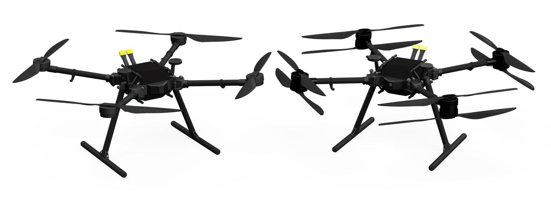 Prism Quad und Koaxial X8 Drohne