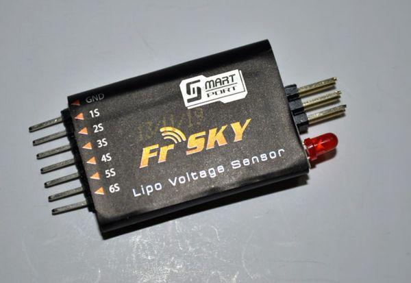 FrSky 2S-6S Lipo Sensor für Smartport Telemetrie Empfänger FLVSS