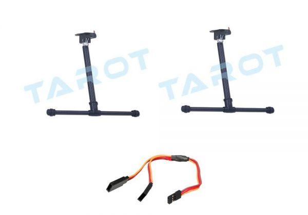 Tarot elektrisches Alu Carbon Landegestell 650, 680 Pro, 690S - Komplettset
