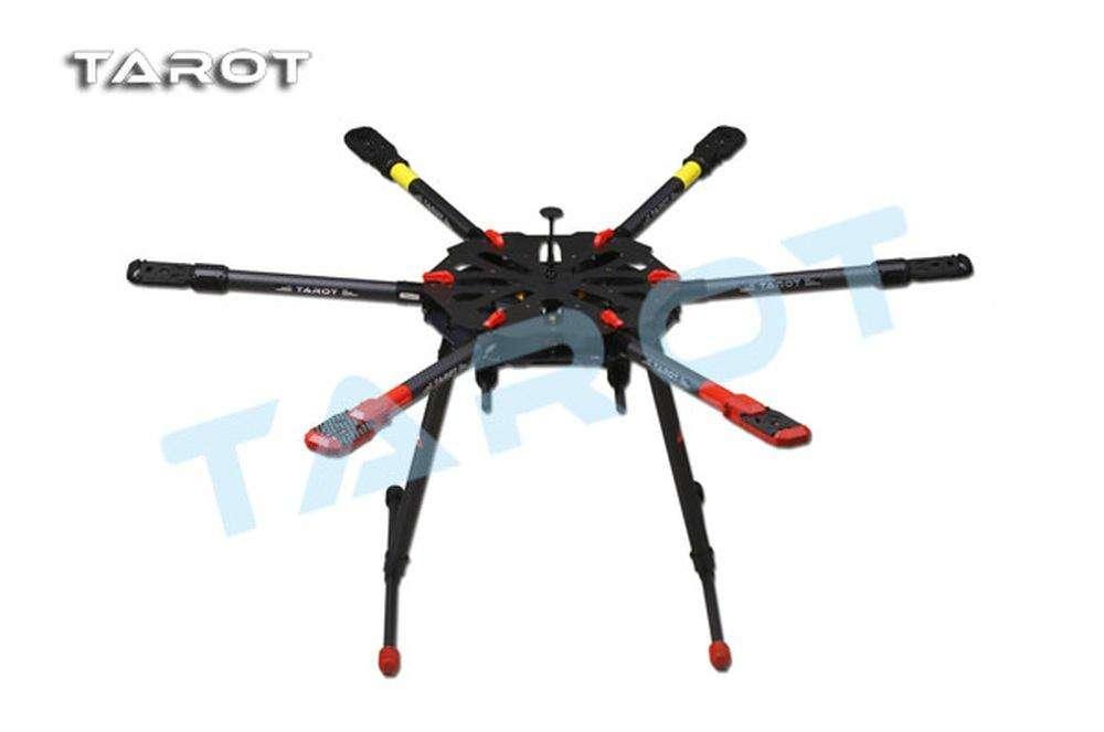 Tarot X6 klappbarer Carbon Hexacopter Rahmen - elektrisches ...
