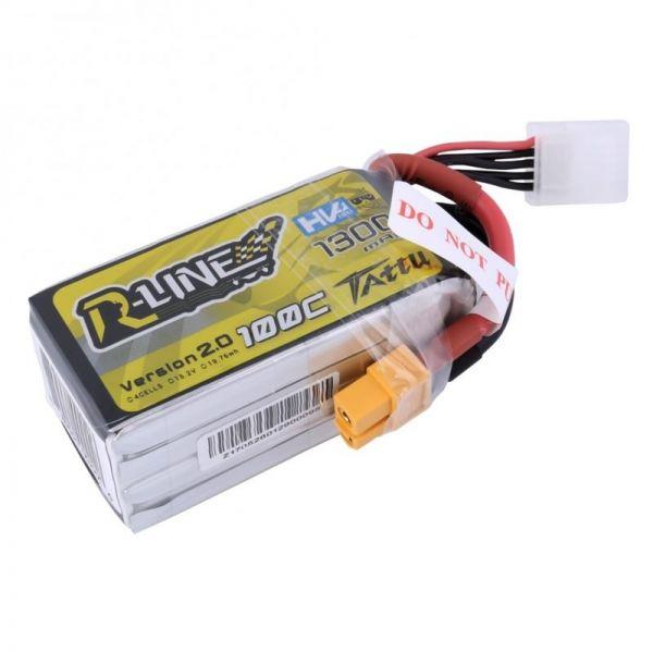 Gens Ace TATTU R-Line High Voltage LiPo Akku 4S 1300mAh 15,2V 100-200C