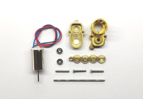DAS87 DS87E19 Getriebe 1:16 Verteilergetriebe Bausatz Messing 1:87