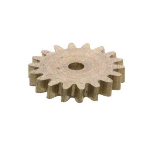 Zahnrad 18 Zähne Modul 0.3 1mm Bohrung Messing M0.3 Z18031